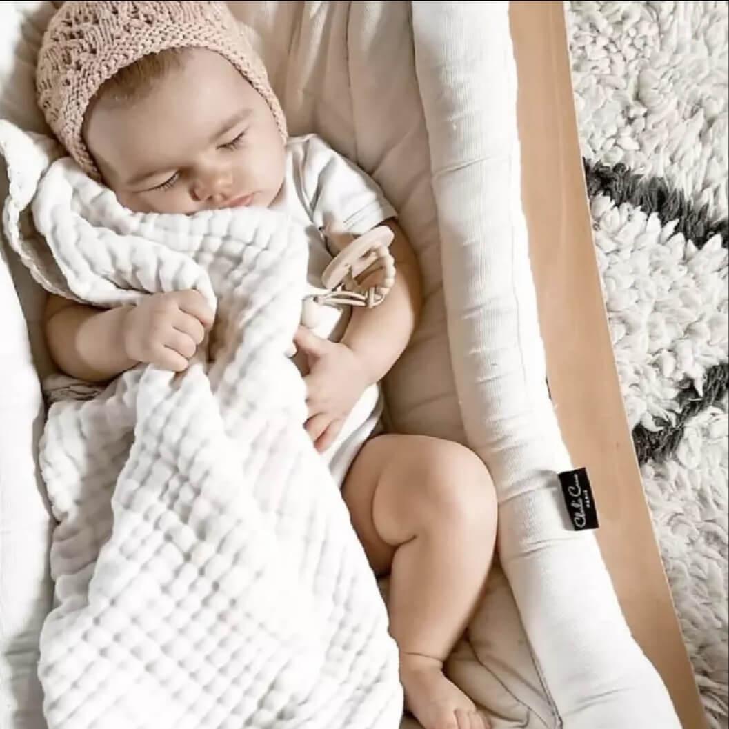 שמיכת טטרה לתינוק גוון תכלת בייבי
