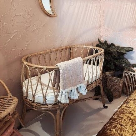 עריסה לתינוק מבמבוק