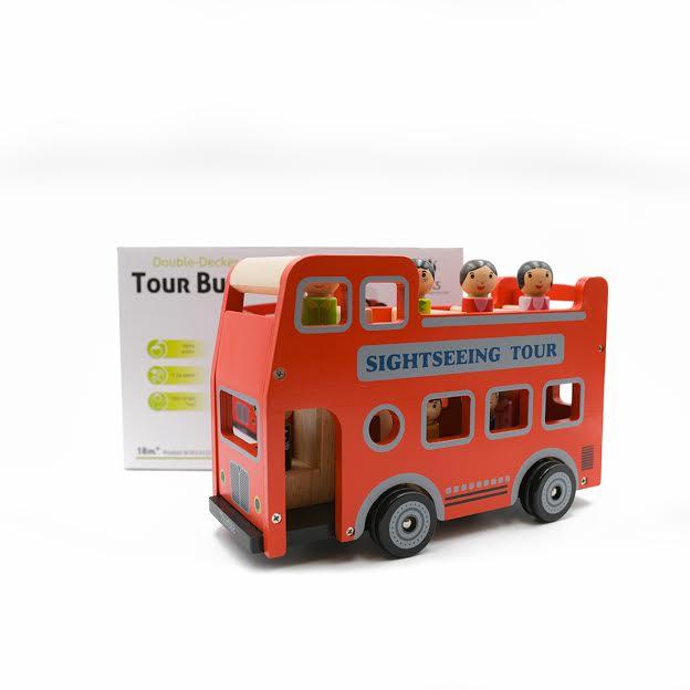 אוטובוס קומותיים אדום לונדון