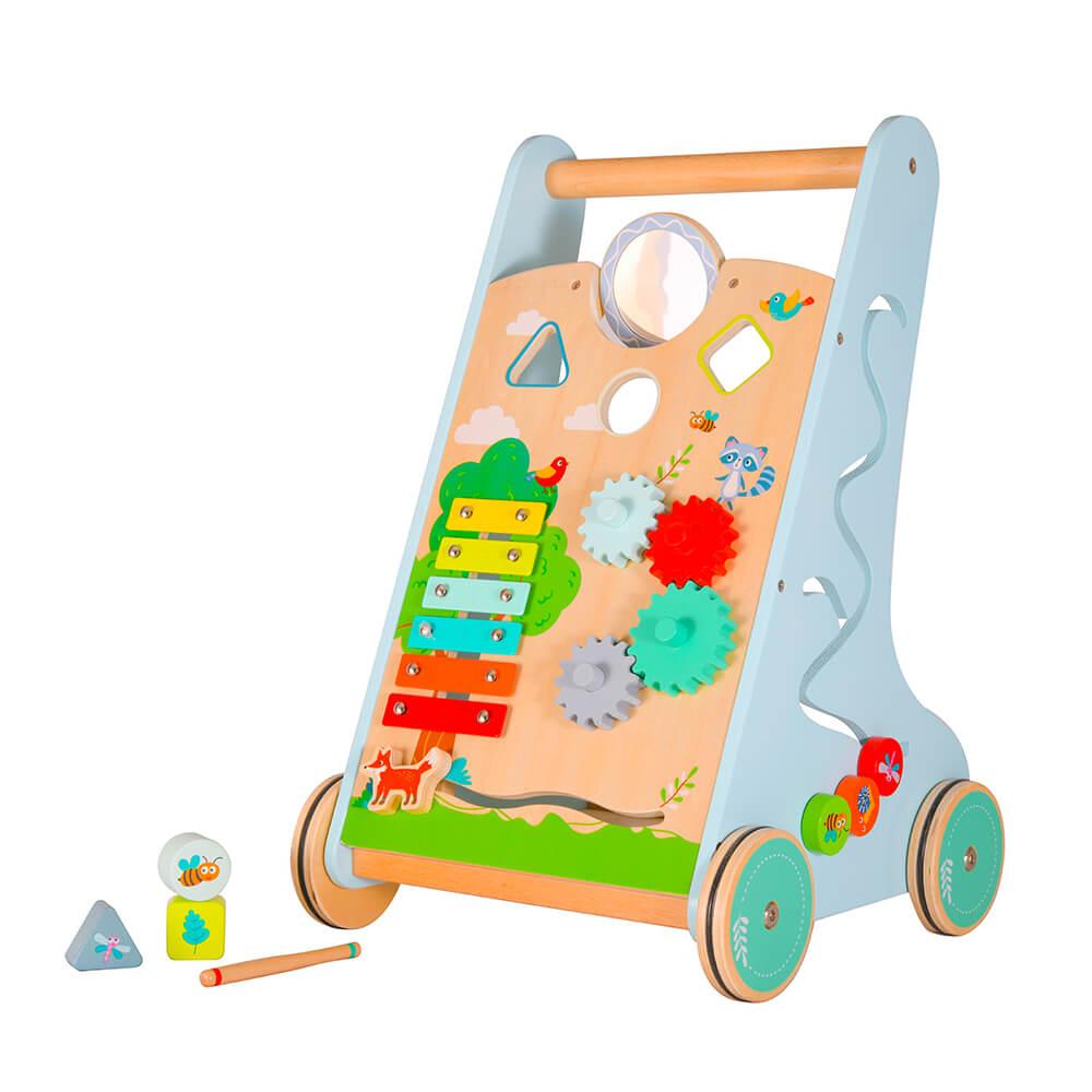 עגלת פעילות לילדים הליכון משחק