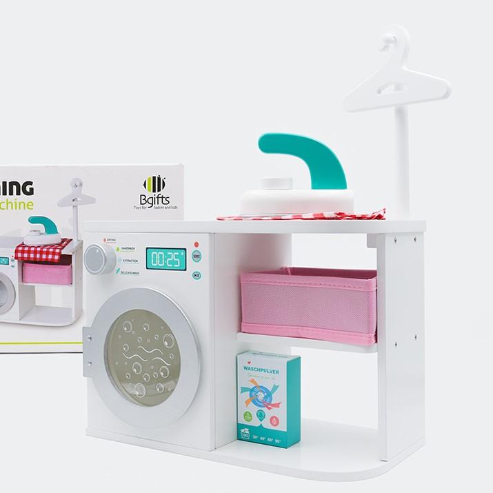 מכונת כביסה וארונית לילדים