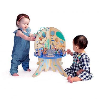 שולחן פעילות לילדים מדוזה תמנון מוזיקלי