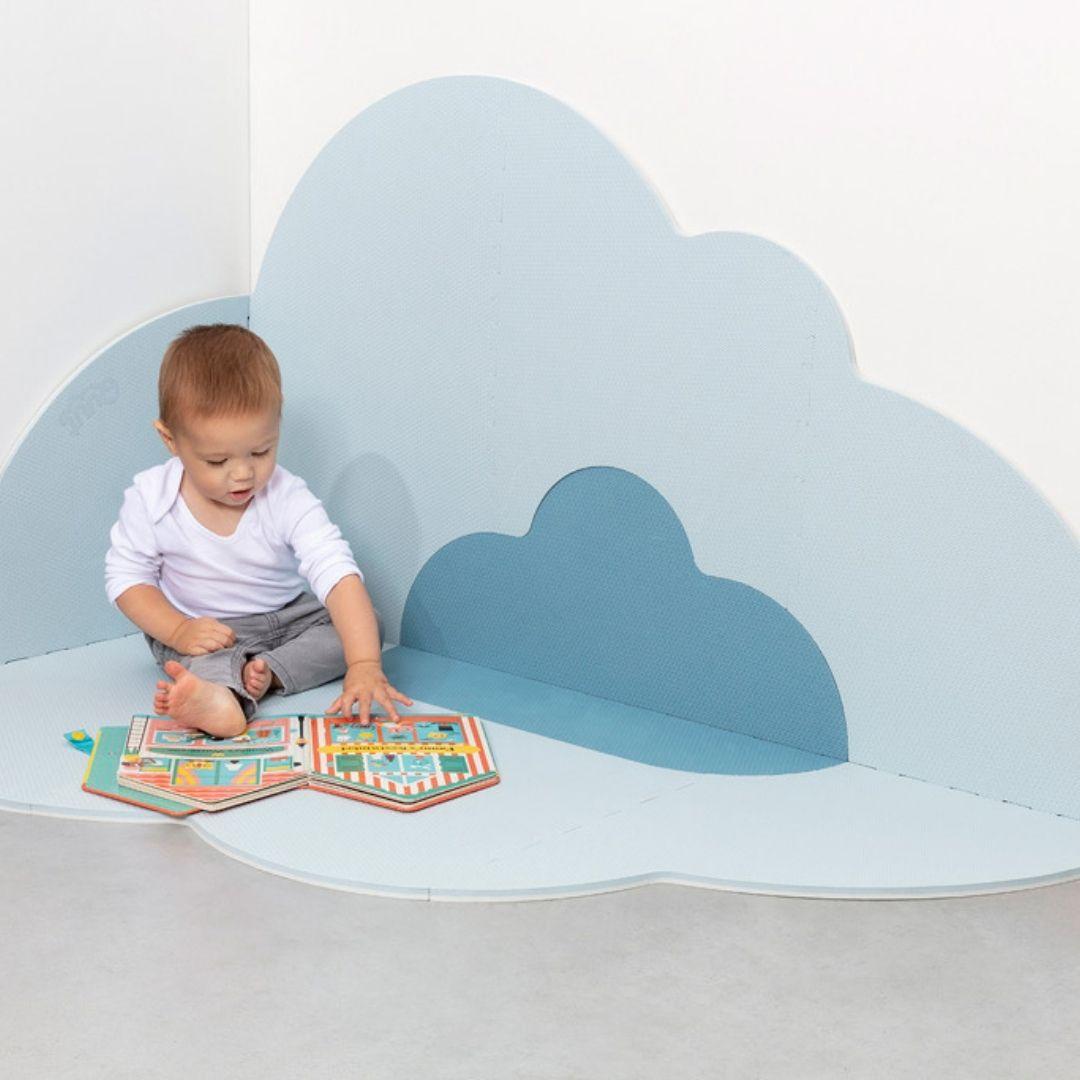 משטח פעילות לתינוק גדול ענן תכלת
