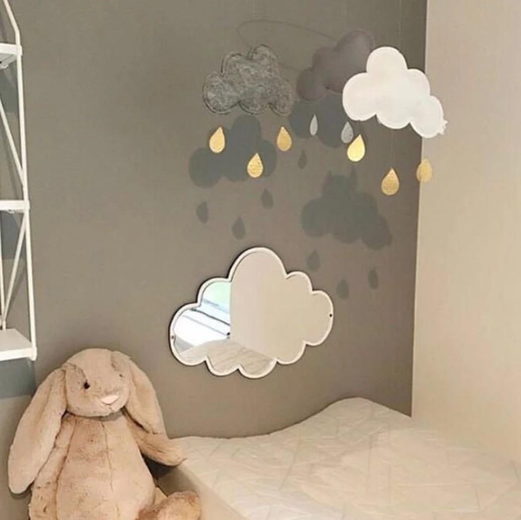 מראה ענן לחדר ילדים