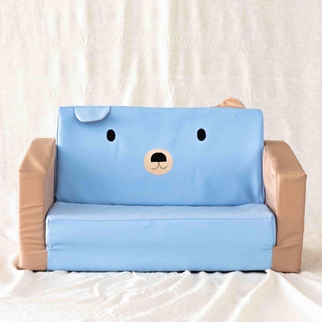ספה לילדים דובי תכלת