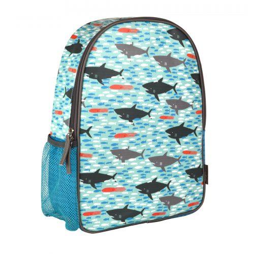 תיק גן לילדים דגם כרישים