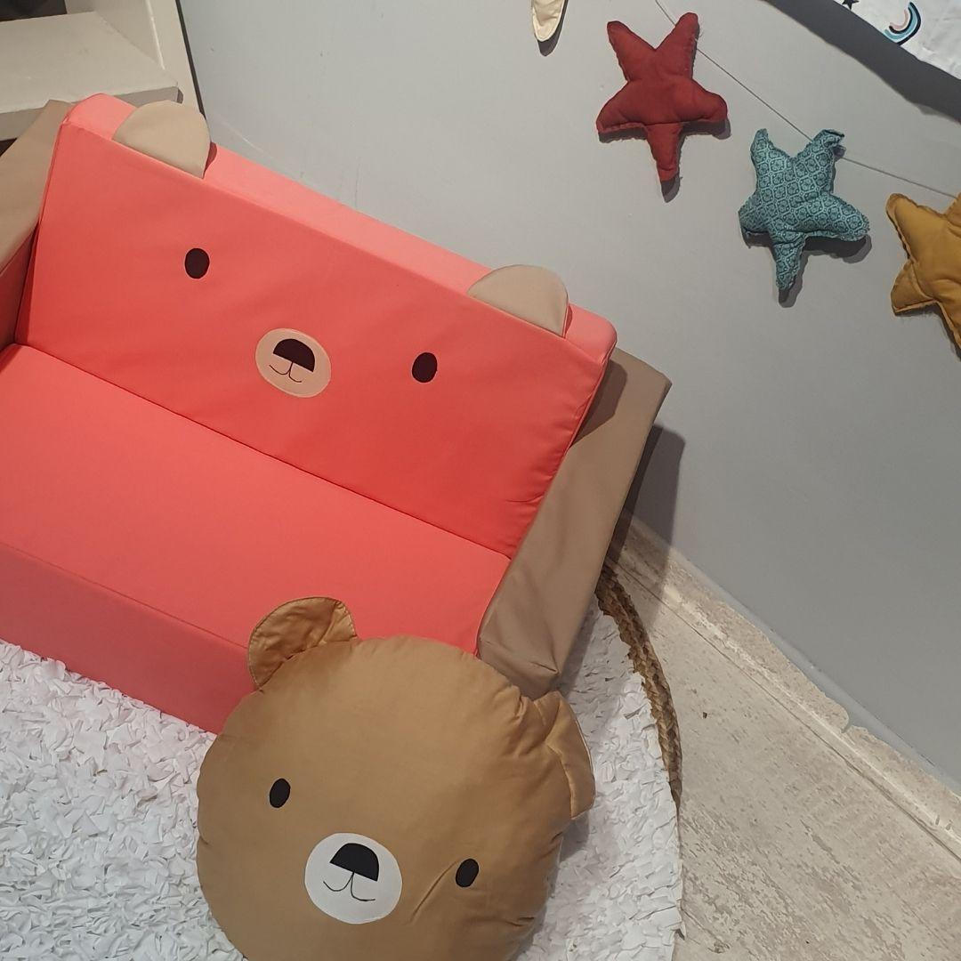 כרית נוי לילדים דגם דוב