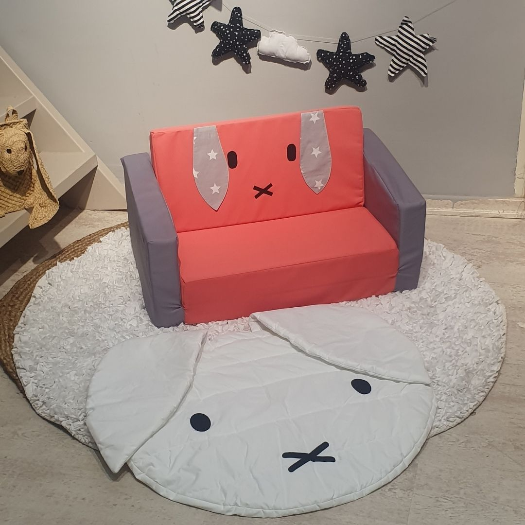 שטיחון שמיכה ארנב
