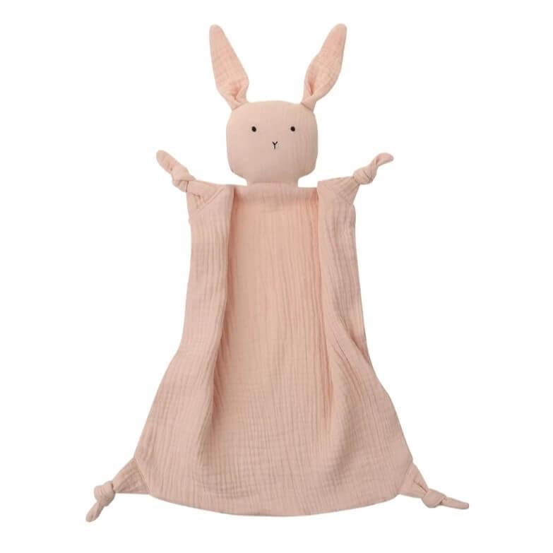 שמיכי לתינוק מטטרה דגם ארנב ורוד