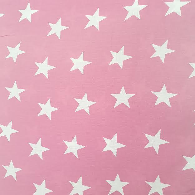 ורוד פוקסיה כוכבים - שמיכי תווית