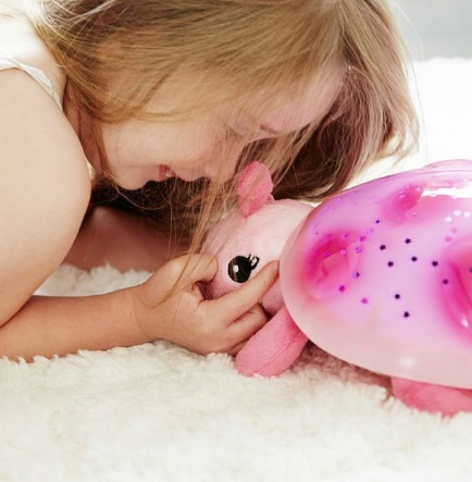 קלאוד בי תאורת לילה מקרן כוכבים בדמות חיפושית, אקססוריז עיצוב חדר ילדים