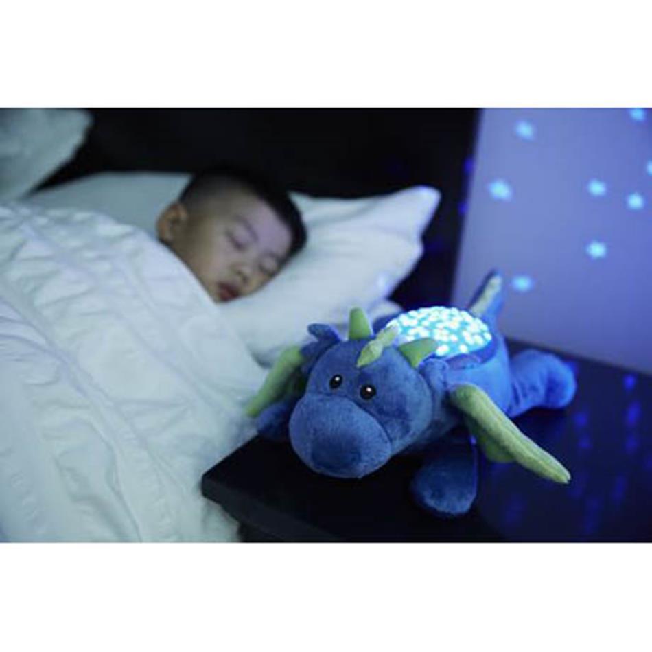 דרקון תאורת כוכבים  בובה מנגנת ומאירה אקססוריז עיצוב חדר ילדים
