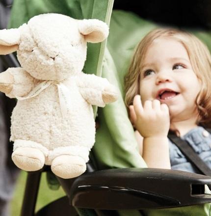 קלאוד בי, בובת שינה כבשה קטנה רעש לבן - תמונה 3