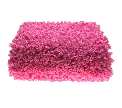 שטיח מלבן - ורוד פוקסיה 90/150