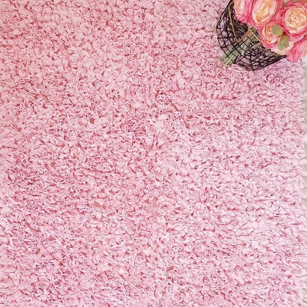 שטיח מלבן לחדר ילדים ורוד בייבי 90/150