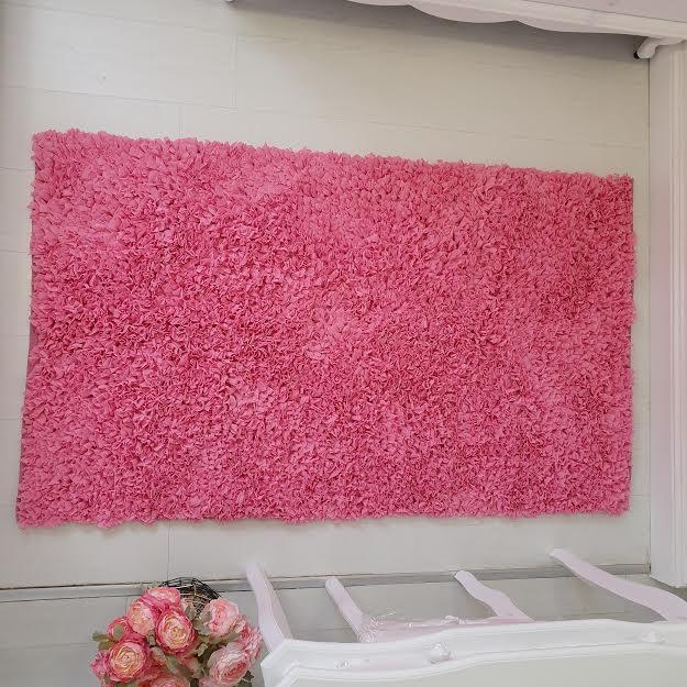 שטיח מלבן לחדר ילדים ורוד 120/180