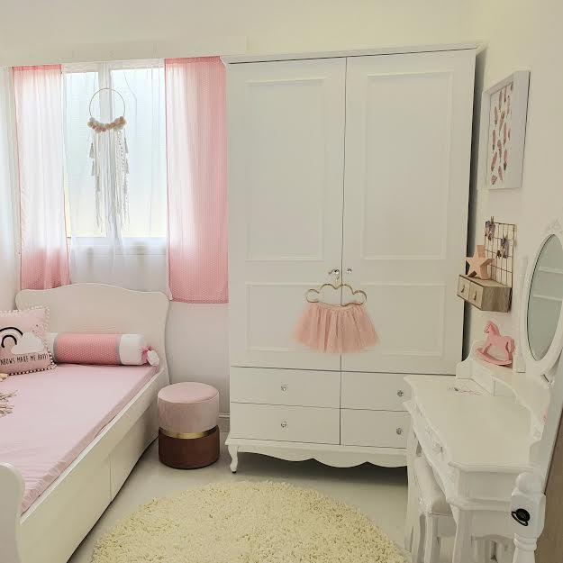שטיח מלבן לחדר ילדים שמנת 140/200