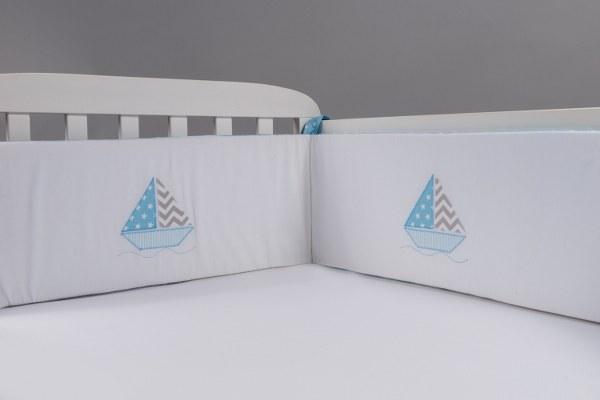 סירה - מגן ראש למיטת תינוק
