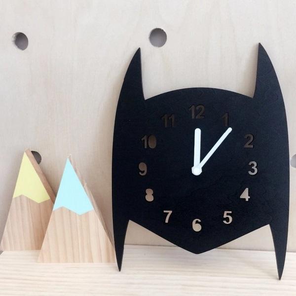 שעון באטמן - אקססוריז לחדר