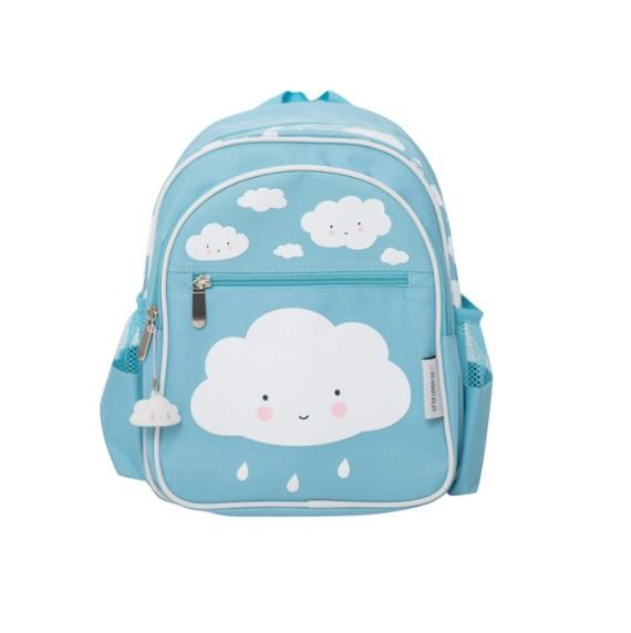תיק גן לילדים תכלת עננים