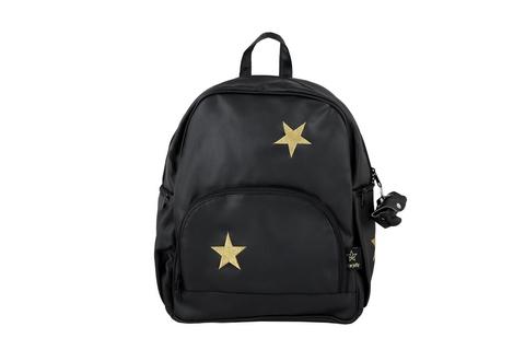 עור כוכבים שחור זהב - תיק לעגלה מעוצב