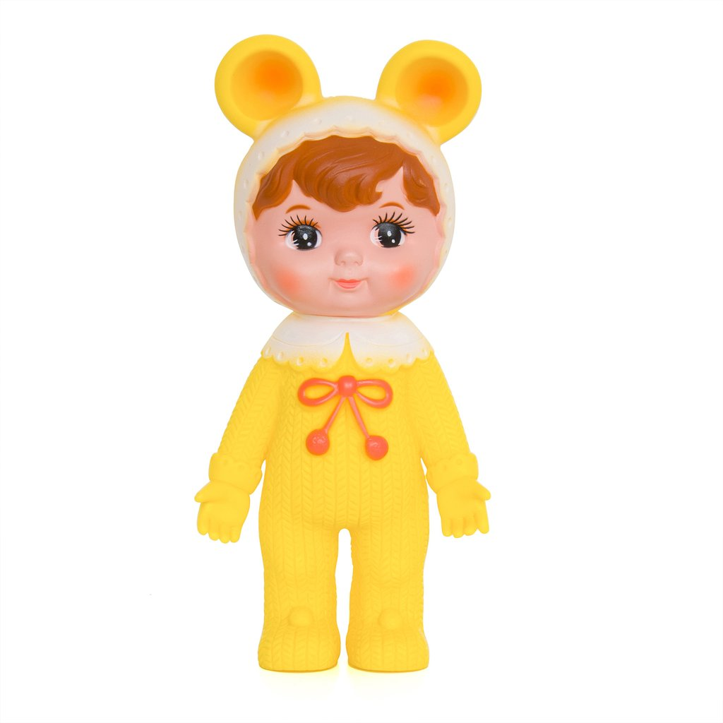 בובה יפנית צהוב - אקססוריז לחדר