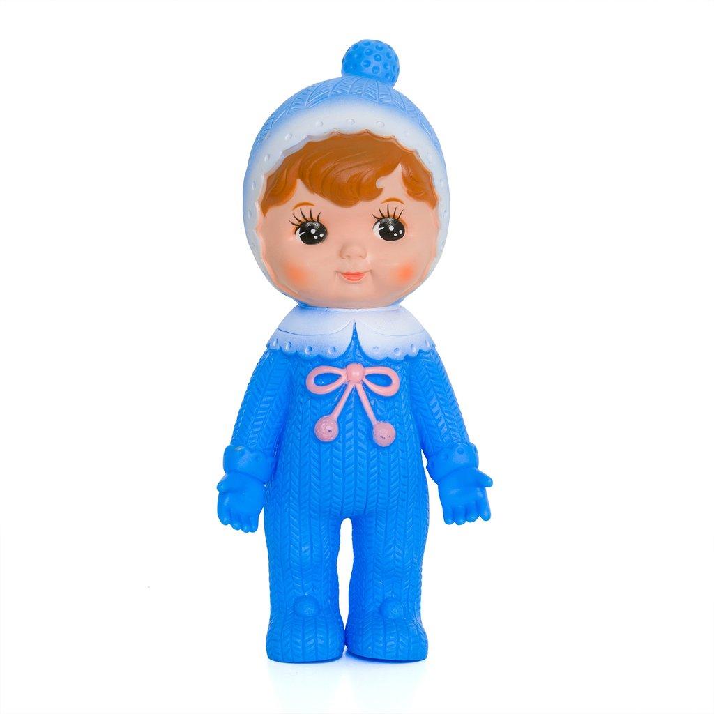בובה יפנית כחולה - אקססוריז לחדר