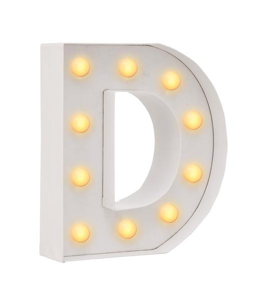 D מנורת אותיות - תאורה