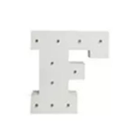 מנורת לילה אותיות באנגלית האות  F