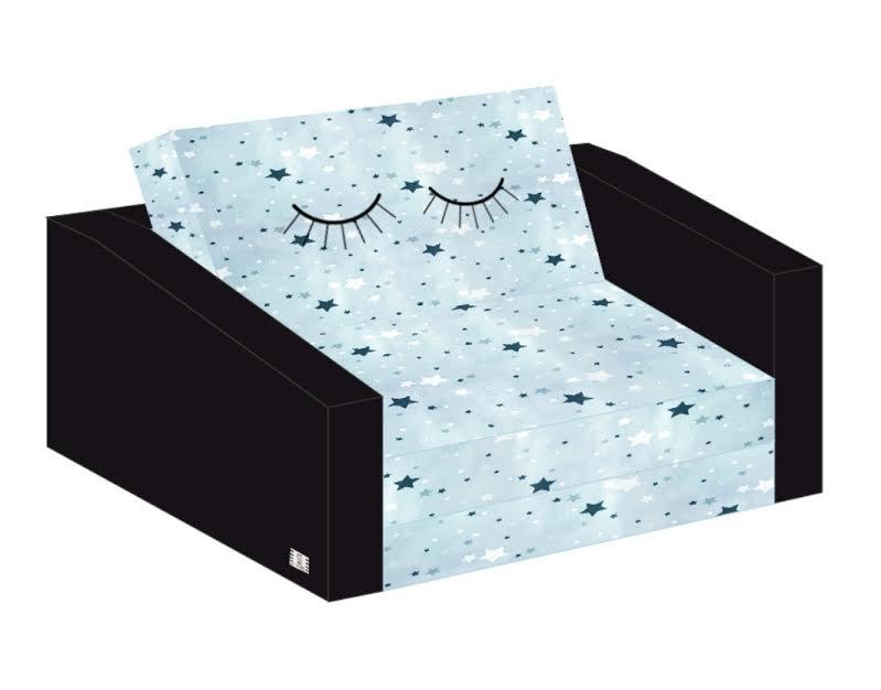 ספה לילדים עיניים צומות