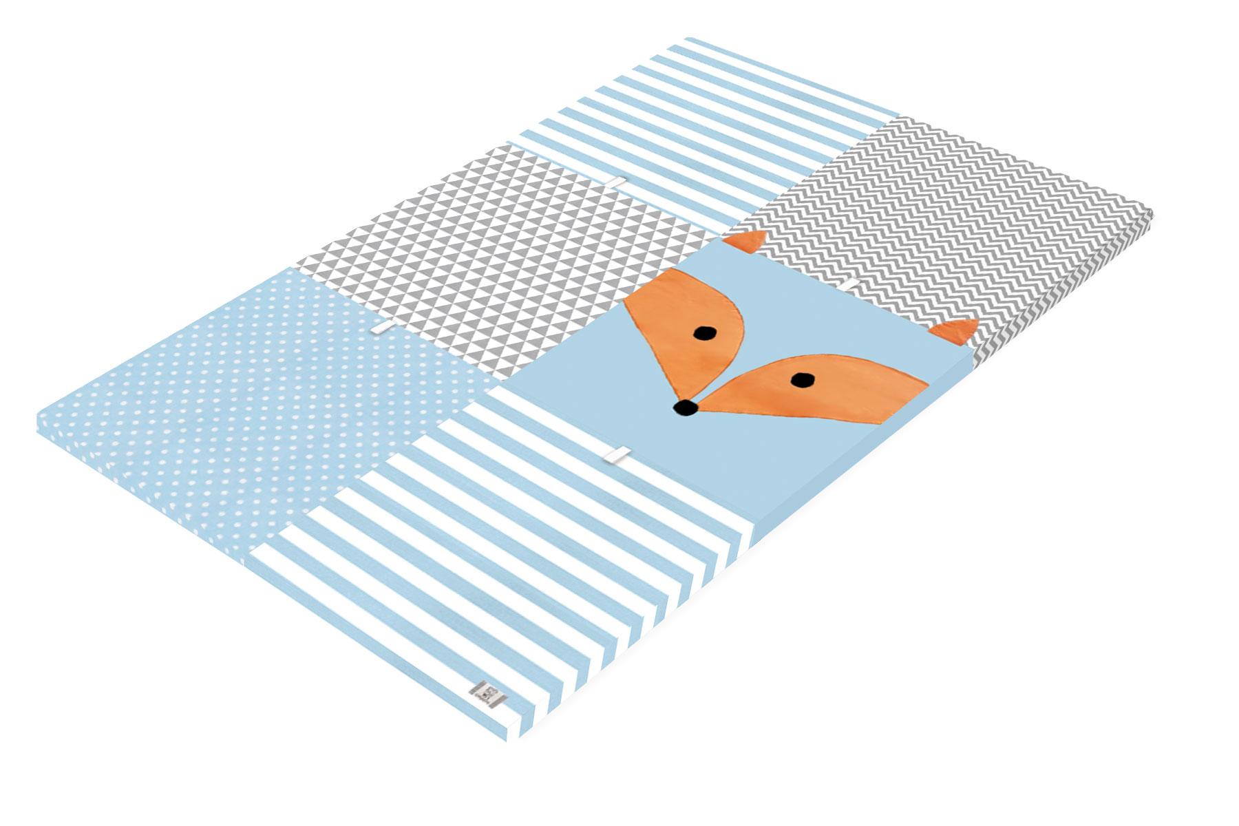 משטח פעילות לתינוק- דגם שועל  - קטן