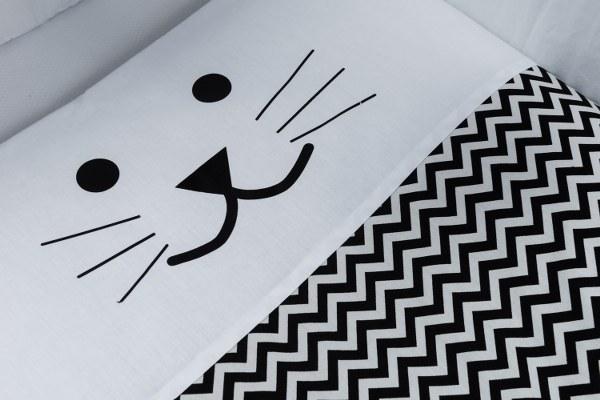 שמיכה לתינוק דגם חתול