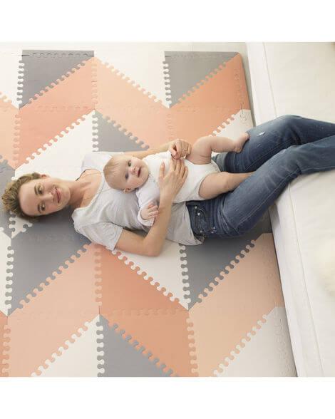 משטח פעילות לתינוק - אפור ורוד לבן SKIP HOP - תמונה 3
