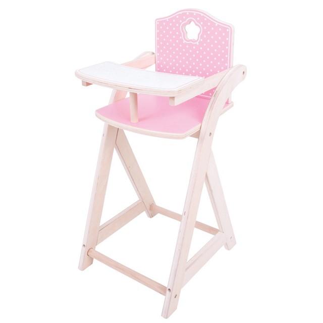 כיסא לבובה מעץ