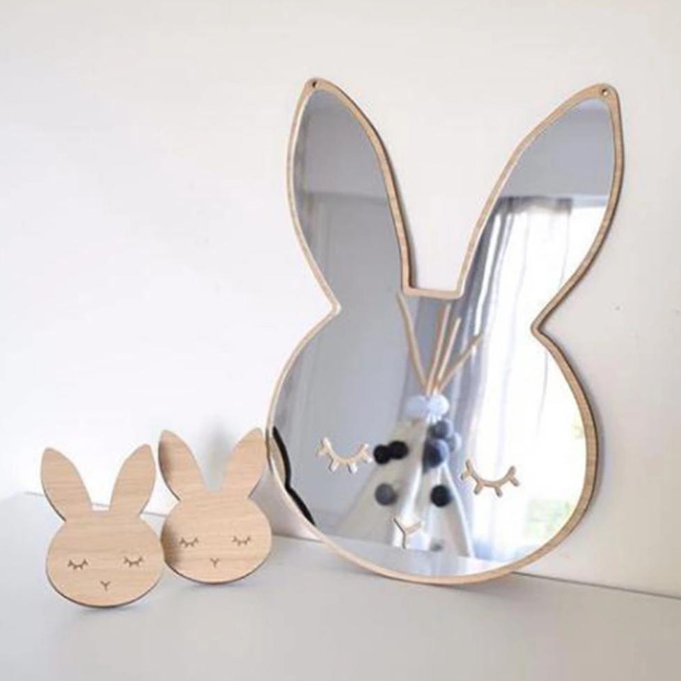 מראה לחדר ילדים מראה מעוצבת לעיצוב חדר הילדים אקססוריז עיצוב חדר ילדים מראה בצורת מיפי