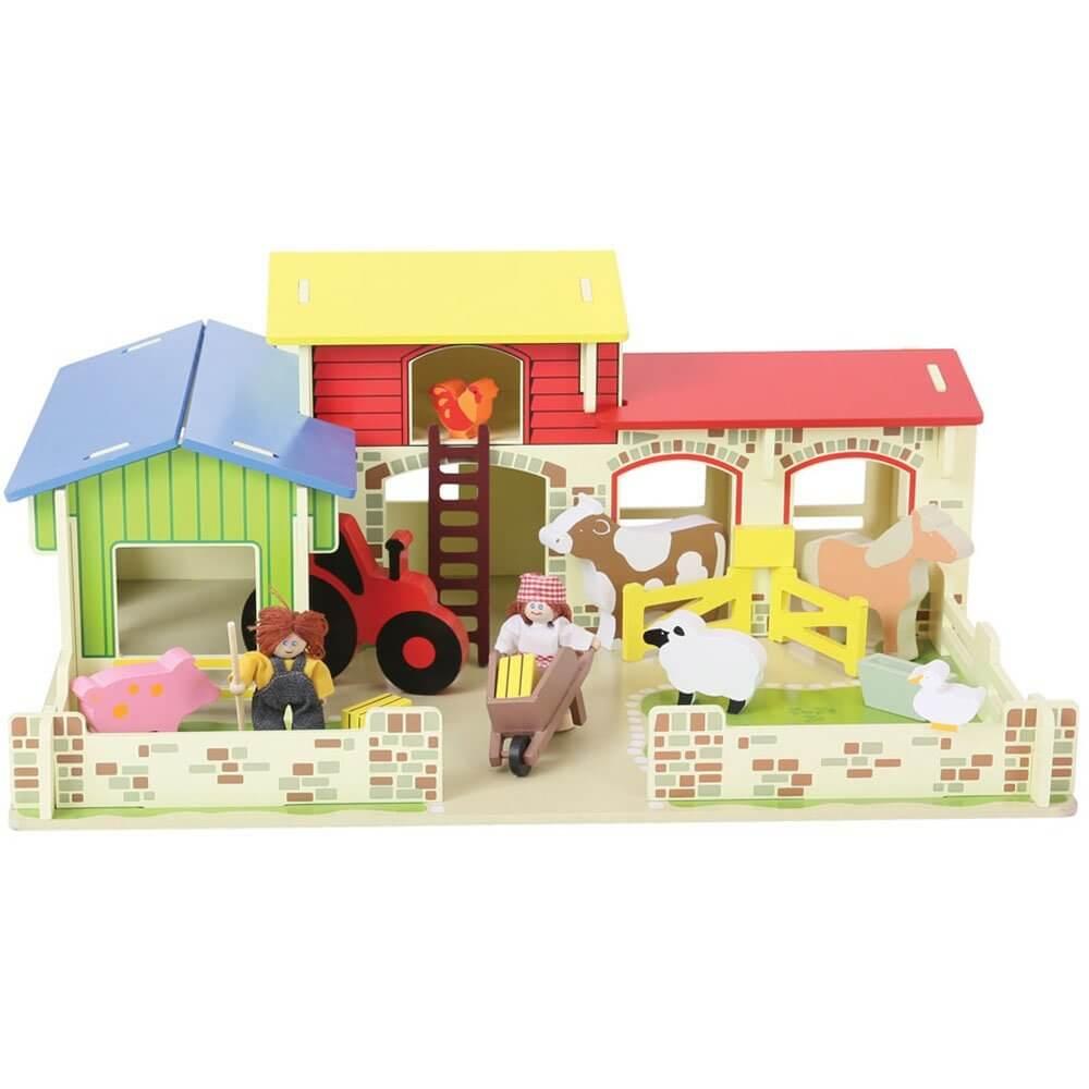 חווה מעץ לילדים