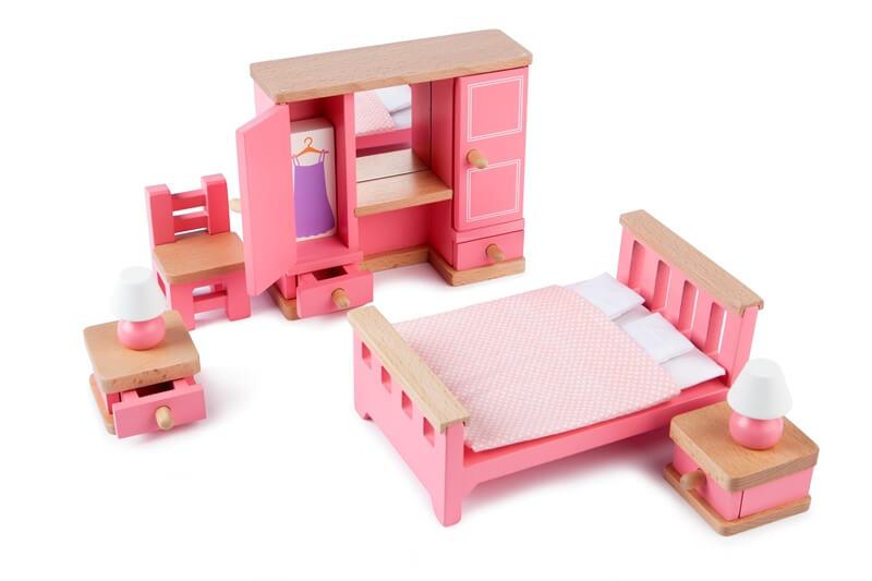 חדר שינה לבית בובות