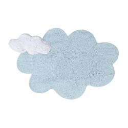 שטיח לחדר ילדים בצורת ענן תכלת
