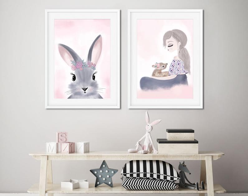 תמונה ארנבת עם שרביט