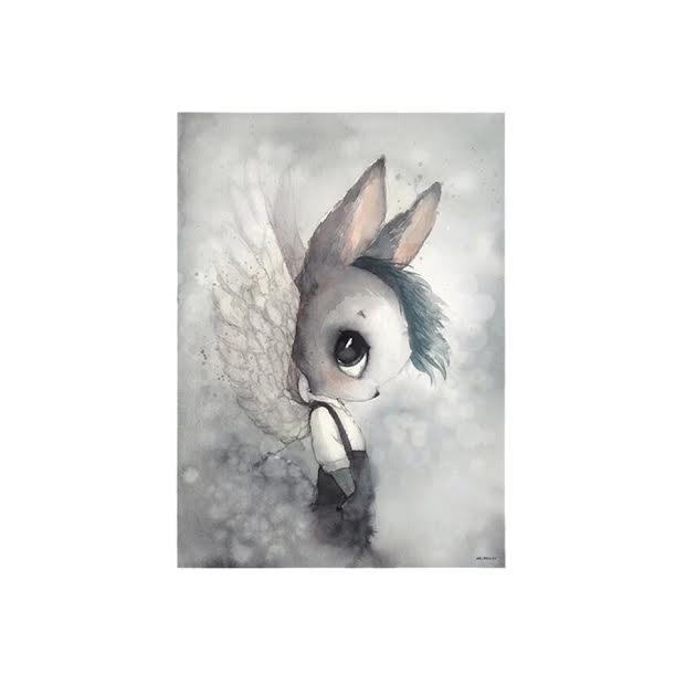 תמונה פנטזיה ילד ארנב