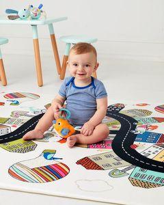 משטח פעילות לתינוק דו צדדי סקיפהופ