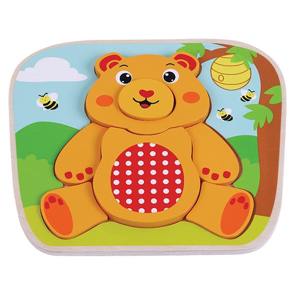 פאזל הרכבה דובי