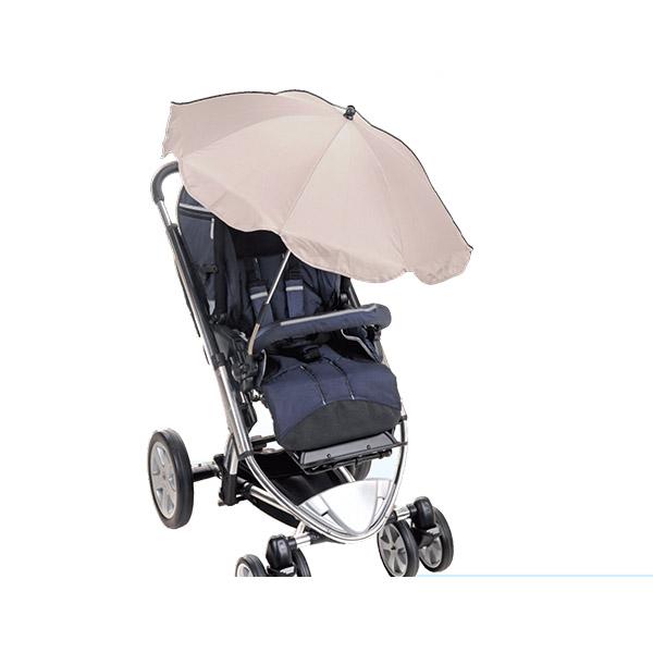 מטריה לעגלה עם מסנני קרינה UV(קרם)