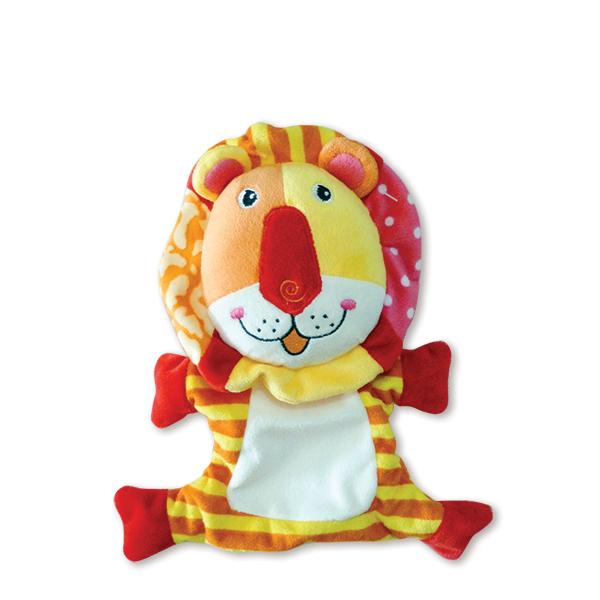 בובות כפפה אריה