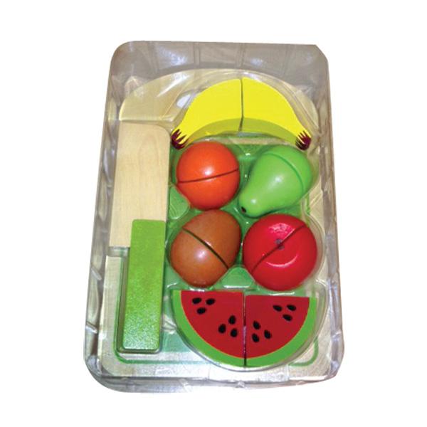פירות עץ ומגש