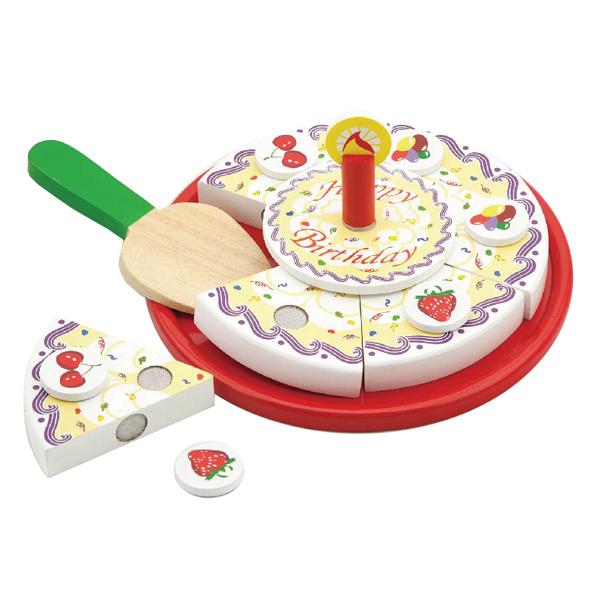 עוגת יום הולדת מעץ