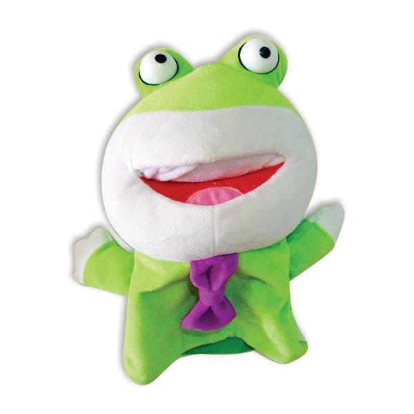 בובות כפפה צפרדע