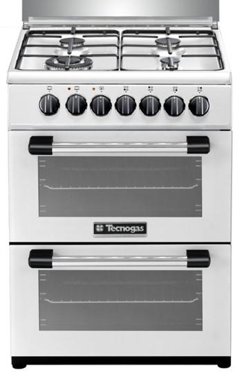 תנור משולב כיריים tecnogas P3W66EE4VEIS