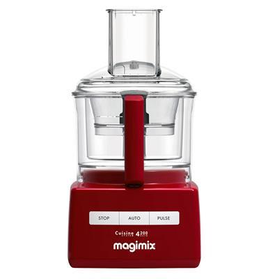 מעבד מזון  MAGIMIX CS-4200 אדום ניופאן