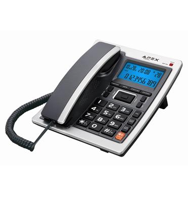 טלפון שולחני מבית APEX דגם ADP-202